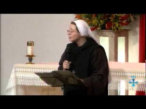 Cerco Mariano 2014 - Irmã Kelly Patricia