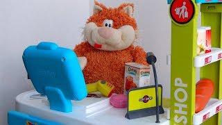 City Shop игрушки для детей Видео про Магазин Smoby