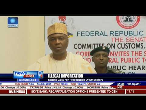 Illegal Importation: Senate Calls For Prosecution Of Smugglers