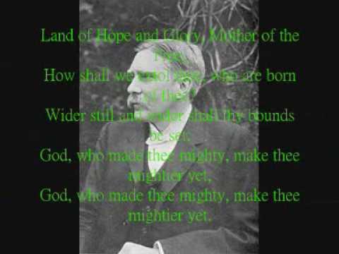 Land Of Hope and Glory (With Lyrics)