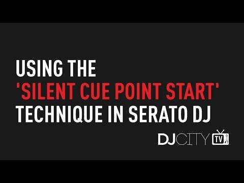 Using the 'Silent Cue Point Start' Technique in Serato DJ