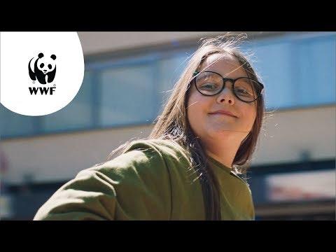 Be one with nature. WWF roept Nederland op om sámen met jongeren in actie te komen. (180 sec)
