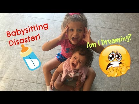 Basitting Disaster Fail SKIT! Surprise Endingis it all a bad DREAM? Sister Sister!