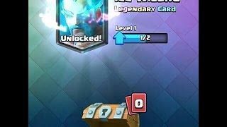 CLASH ROYALE - HOW TO UNLOCK LEGENDARY CARD FROM FREE CHEST!! GLITCH