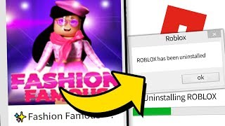 FASHION FRENZY MADE ME QUIT ROBLOX FOREVER!!