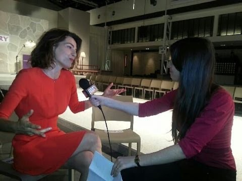 i24news Shachar Peled - Ayelet Zurer interview
