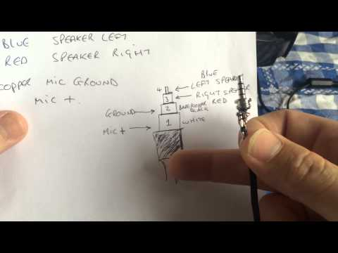Headphone Wire Diagram Toyota Audio Wiring Xbox One Stereo Headset Jack Repair. - Youtube