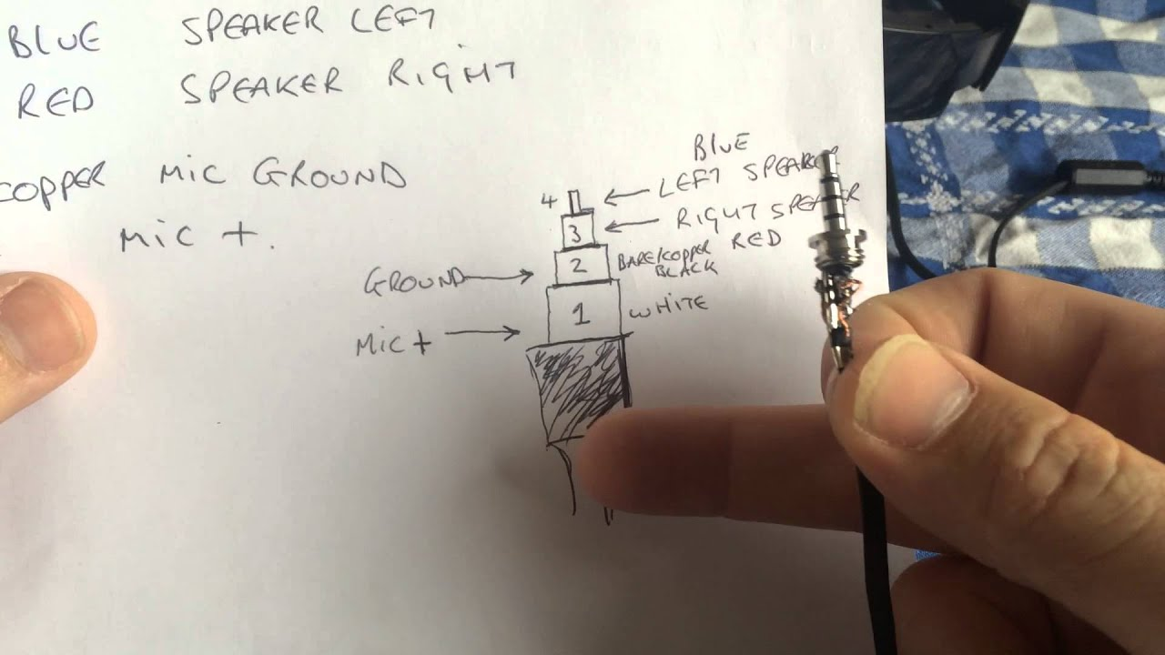 stereo headphone wiring diagram worcester bosch boiler xbox one headset jack wire repair. - youtube