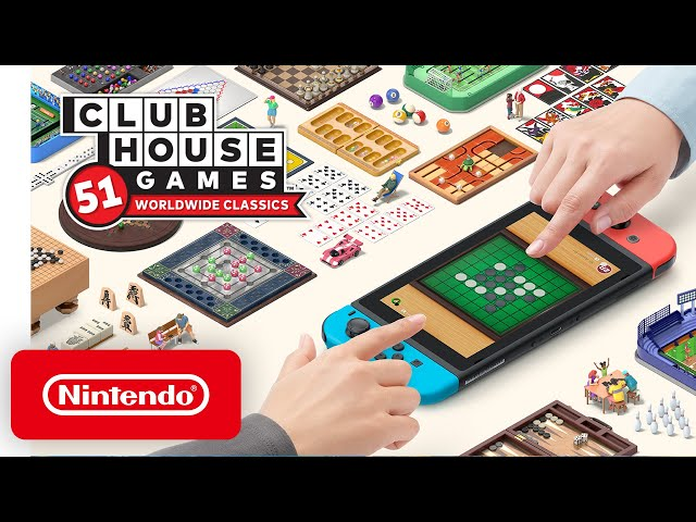 Clubhouse Games: 51 Worldwide Classics - Announcement Trailer - Nintendo Switch