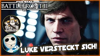 Luke versteckt sich! - Star Wars Battlefront II together 212th Taha & Tombie Lets Play