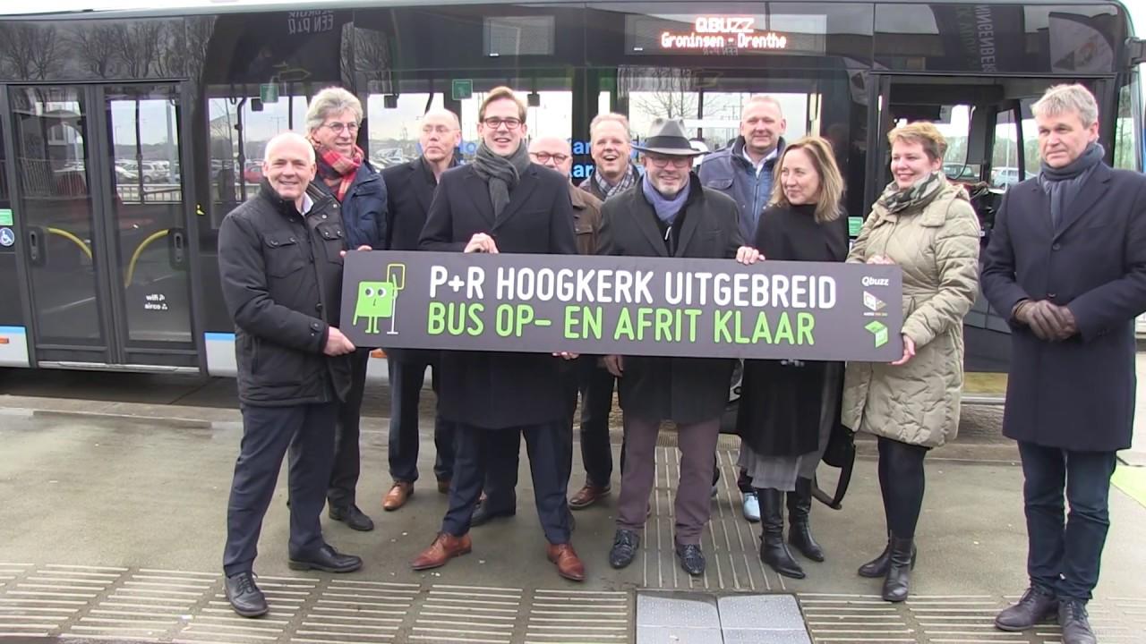 P+R Hoogkerk aantrekkelijker voor automobilisten naar Groningen