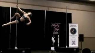 Great Mid West Pole Dance Competition 2011 ~Noelle Wood/Masters Division Winner