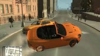 Gta IV Sliding car-التفحيط في قراند 4