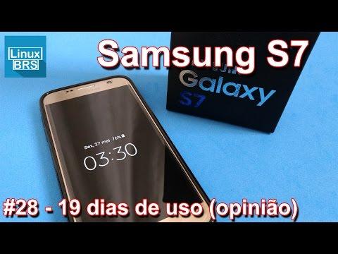 Samsung Galaxy S7 - 19 dias de uso (minha opinião)