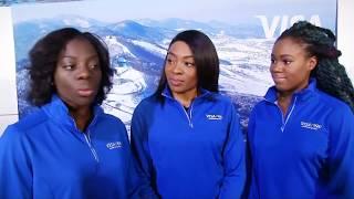 Afrikanische Bobmannschaft: Team Nigeria reist zu den Olympischen Spielen