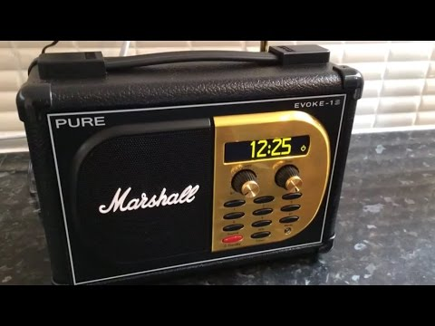 Pure EVOKE-1S Marshall (DAB radio)