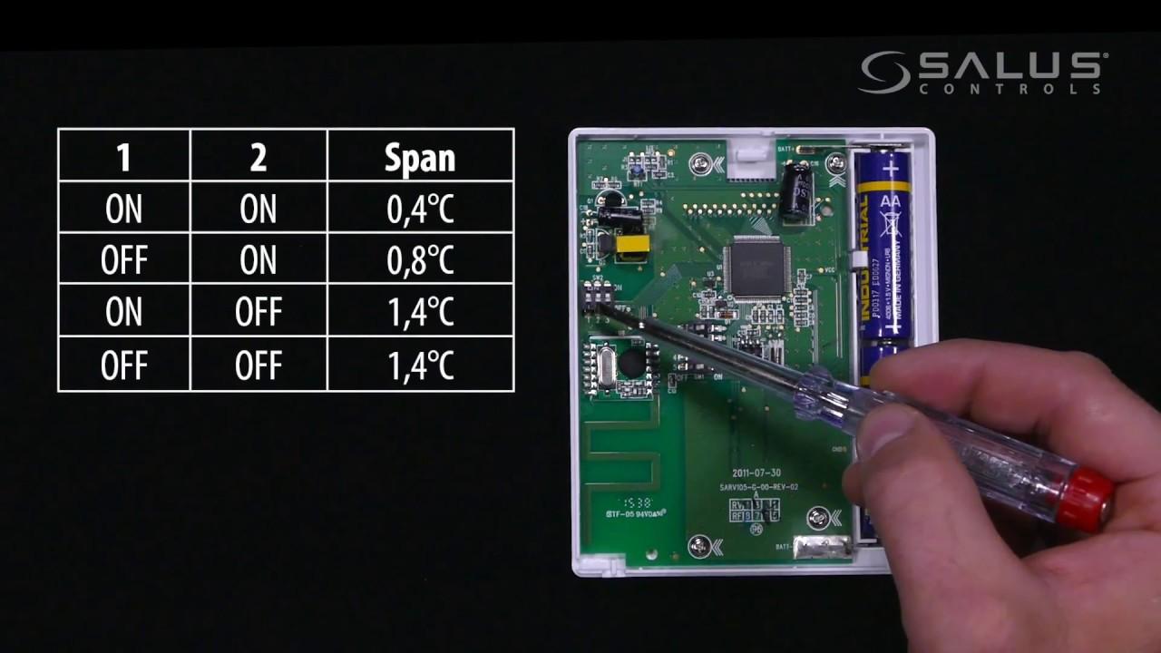 parametry serwisowe w regulatorze t105 i t105rf [ 1280 x 720 Pixel ]