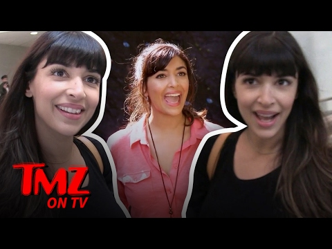 Hannah Simone's Got A New Gig!  TMZ TV
