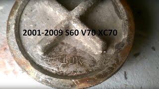 Volvo automatic transmission 2nd-3rd gear harsh/delayed upshifting (B4 servo piston removal)
