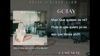 Gotay & Ñengo Flow - Que Quieres De Mi [Remix Exteneded] Ft Nova, Jory, J Alvarez & Farruko LETRA HD
