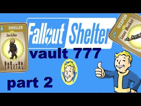 Fallout Shelter Vault 777 My Pack Luck Is Amazing Gameplay Part 2