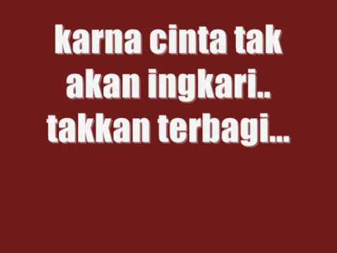 tangga - cinta begini with lyrics [HQ]