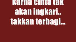 tangga - cinta begini with lyrics [HQ] MP3