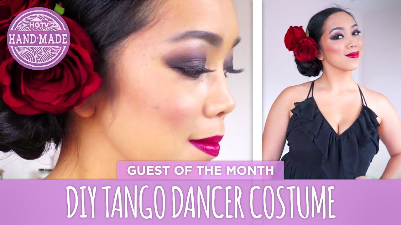 Diy tango dancer costume by itsjudytime guest of the month diy tango dancer costume by itsjudytime guest of the month hgtv handmade youtube solutioingenieria Images