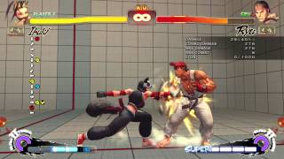 Awesome Ninja Tricks: Omega SF4 Ibuki Combo Video!(she's a walking combo video now., 2014-12-18T00:10:45.000Z)