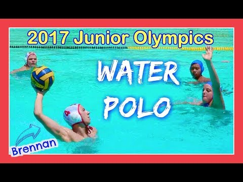 2017 WATER POLO JUNIOR OLYMPICS FINAL GAME | Flippin' Katie