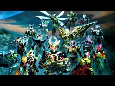 仮面ライダー ウォー II 超必殺技集 Kamen Rider War 2 All Riders Specials & Transformations HD 720p
