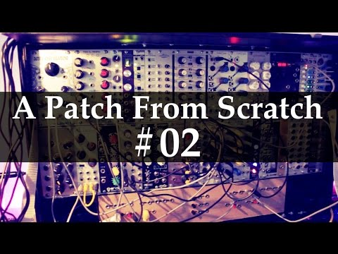 A Patch From Scratch #02: Simple dirty percussion (without drum modules) #TTNM