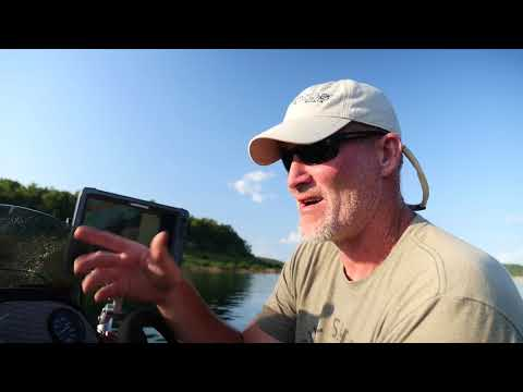 Drop Shot Fishing On Bull Shoals Lake