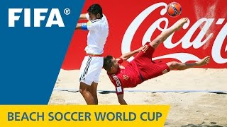 HIGHLIGHTS: Mexico v. Spain - FIFA Beach Soccer World Cup 2015