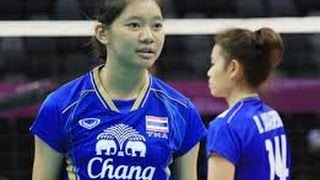 No.9 14 years old CHATCHUON in FIVB WCH 2014 บุ๋มบิ็ม ชิงแชมป์โลก