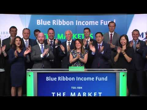 Blue Ribbon Income Fund opens Toronto Stock Exchange, September 19, 2017