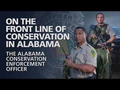 The Alabama Conservation Enforcement Officer