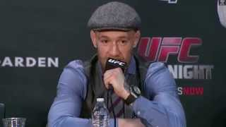 Conor McGregor post fight Boston reaction to not getting Crowcombe Park for title fight vs Jose Aldo