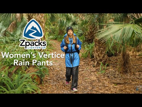 Zpacks Womens Vertice Rain Pants | Overview