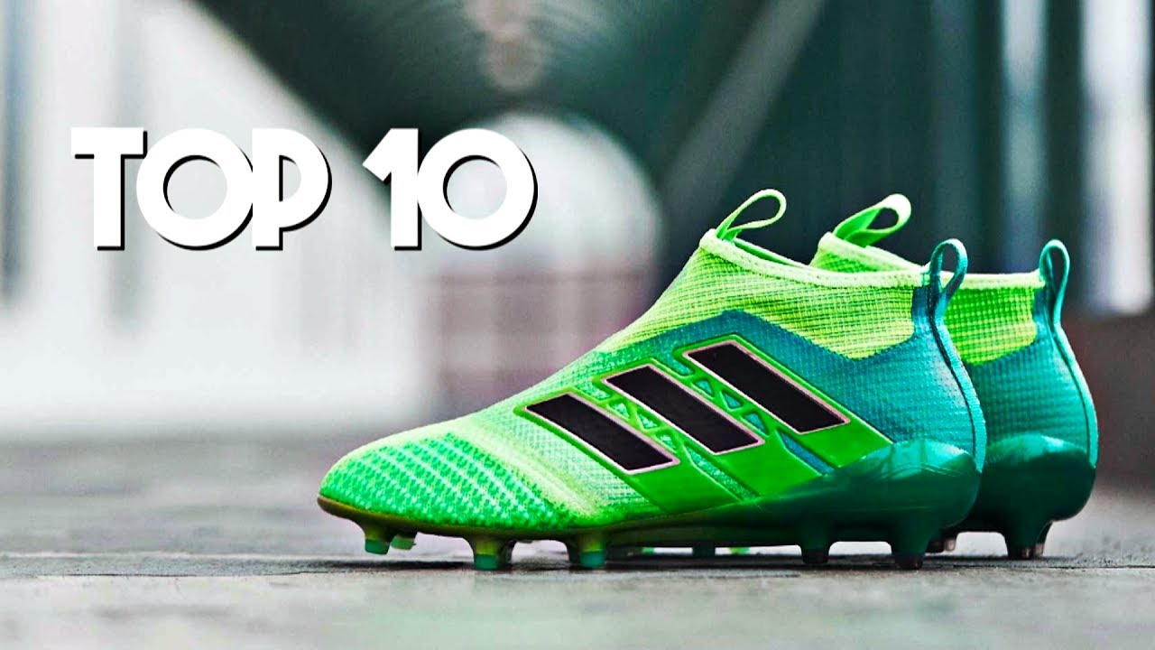TOP 10 Adidas Football Boots for the 2017 18 Season - YouTube 4c0d613e0