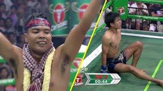 ចាន់ ស៊ីណាត Chan Sinath Vs (ថៃ) Jingrithorng, 02/September/2018, BayonTV Boxing