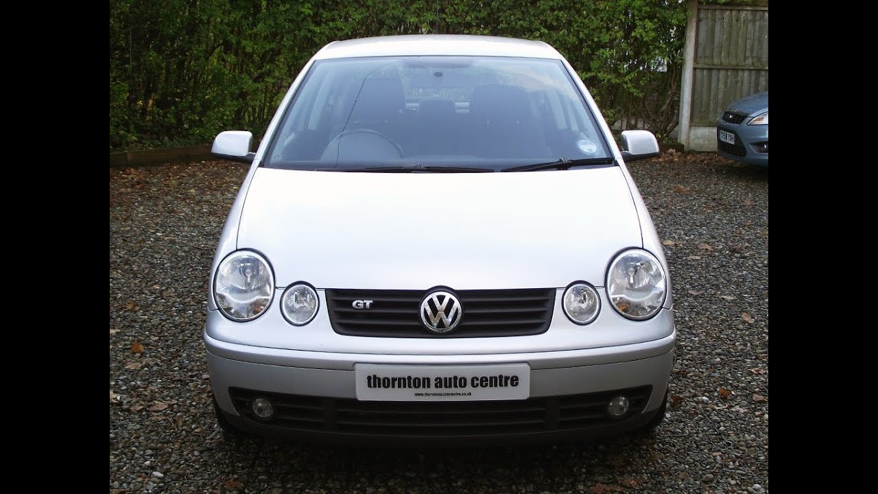 2005 volkswagen polo 1 9 tdi gt youtube. Black Bedroom Furniture Sets. Home Design Ideas