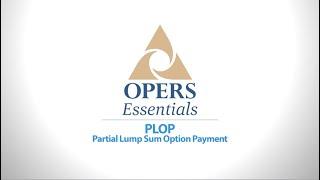 OPERS Essentials: PLOP thumbnail