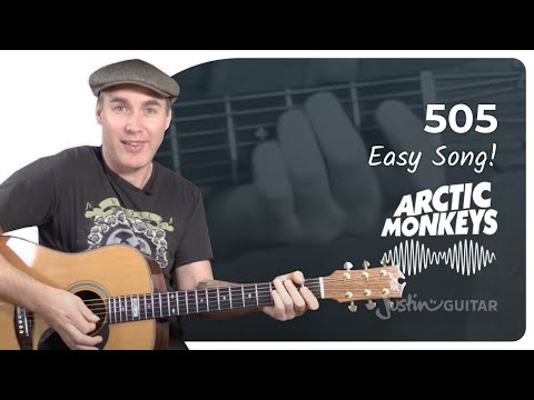 505 - Arctic Monkeys - Beginner Song Guitar Lesson Tutorial (BS-220)