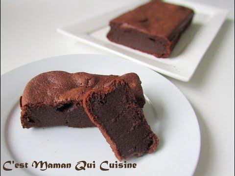 fondant-au-chocolat-déculpabilisant-(à-la-compote-de-pomme)-sans-beurre