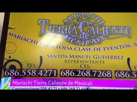 Mariachi Tierra Caliente De Mexicali En Canal 66 Youtube