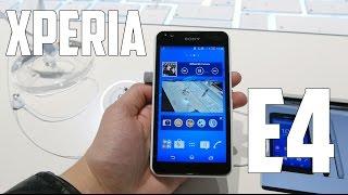 Sony Xperia E4, Primeras impresiones MWC 2015