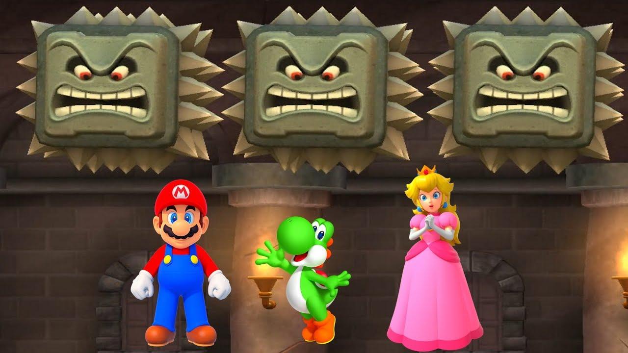 Mario + Yoshi Vs Peach + Luigi - Mario Party 9 MiniGames