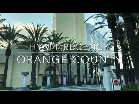 Hyatt Regency Hotel Tour In Orange County!! Executive King Suite Tour!! Disney Good Neighbor Hotel❤️