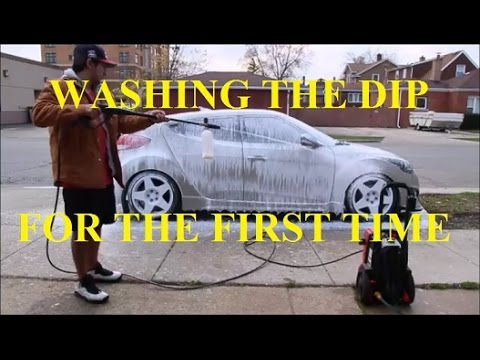HOW I WASH MY DIPPED CAR